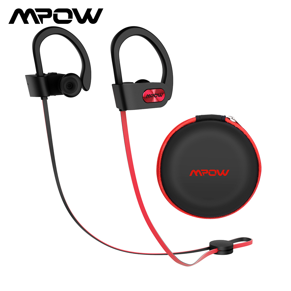 Original Mpow Flame Bluetooth Headphones HiFi Stereo Wireless Earbuds Waterproof Sport Earphones With Mic/Portable Carrying Case earbuds wireless sport earphoneearphone high quality - AliExpress