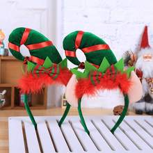 Get more info on the Fancy Dress Up Headwear Accesorios Christmas Headband Feather Pointed Hat Hair Hoop Party Navidad Ofertas Christmas DecorationCM