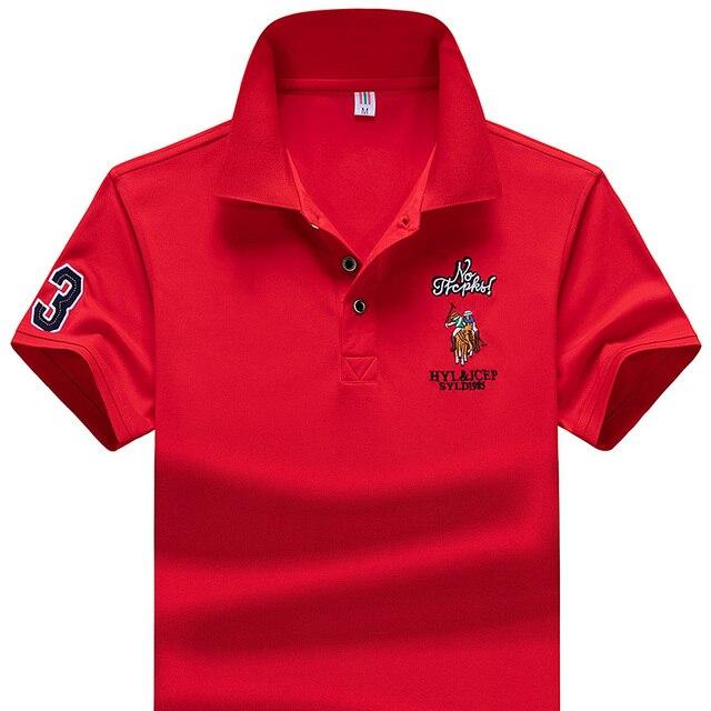 Polo Shirt Summer Brand Clothing Golf polo shirt Men Business Casual Male Polo Shirts Short Sleeve Breathable Soft Polo Shirt 2