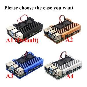 Image 3 - Raspberry Pi 4 Model B zestaw 2G / 4G RAM + aluminiowa obudowa + zasilacz + 32GB/karty SD o pojemności 64GB + Micro kabel HDMI dla Raspberry Pi4