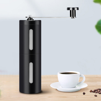 Colorful  New hand-cranked coffee machine coffee bean grinder  Portable coffee grinder  core ceramic grinding wholesale washable 1