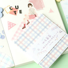1 pacote de cheques série festa bloco de notas fundo notas decorativas bloco de notas escola material de escritório papelaria escolar