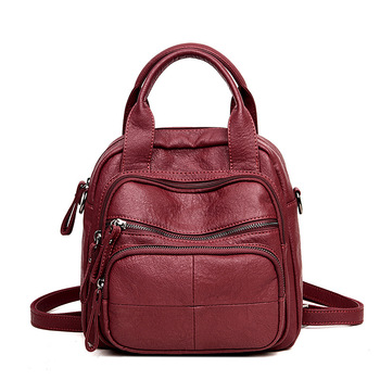 Backpack New Fashion Young Mom Shopping Leisure Multifunctional Schoolbag - discount item  20% OFF Backpacks
