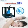TRONXY D01 3d принтер DIY CoreXY TITAN экструдер Core XY промышленная линейная направляющая 3d машина бесшумный дизайн высокая точность