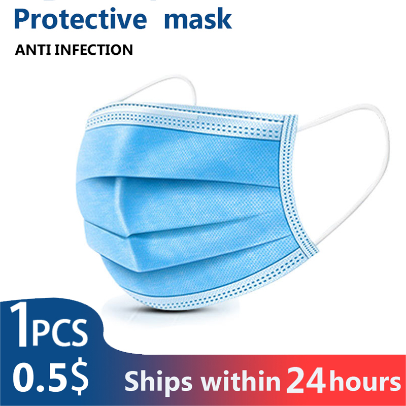 10/30/50/100PCS KN95 Layer Non-woven Thickened Dust Mask N95 Thickened Disposable Mouth Mask Same As Ffp33 KF94 N95