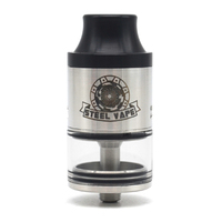 Authentic Steelvape Tailspin 25mm RDTA wide bore driptip Rebuildable Dripping Tank Atomizer 4ml vape tank for mech mod/vape mods