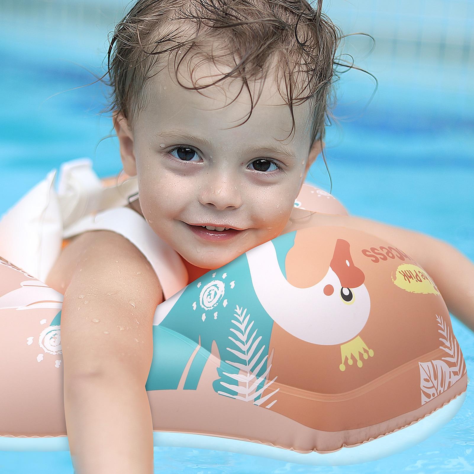 Новые обновления, детский Плавающий поплавок, надувные плавающие Аксессуары для детского бассейна, круглые летние игрушки для купания, кольца для малышей 3