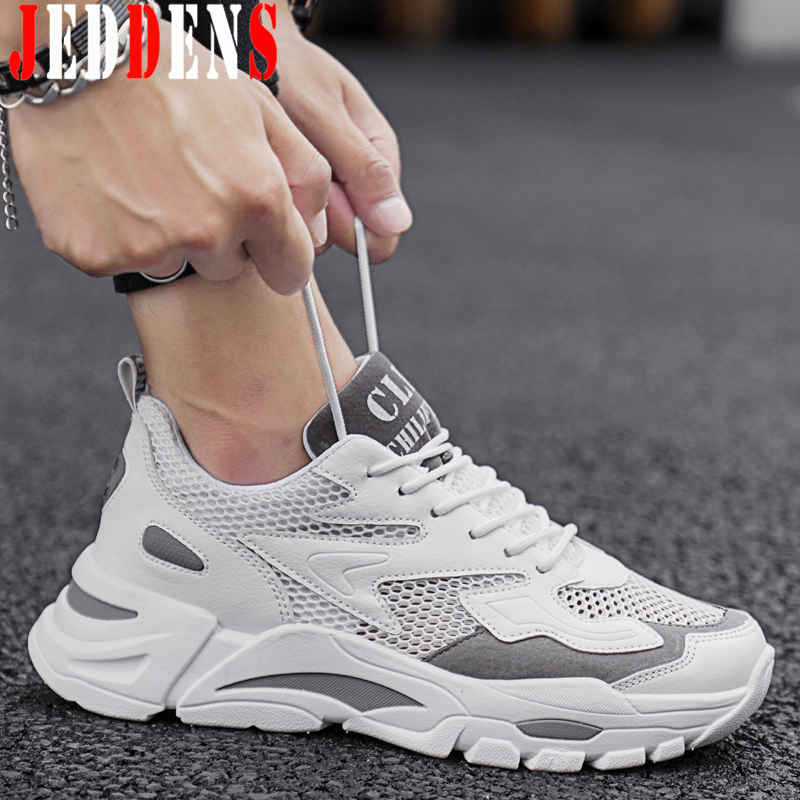 Summer Men's Sports Shoes Thick Bottom
