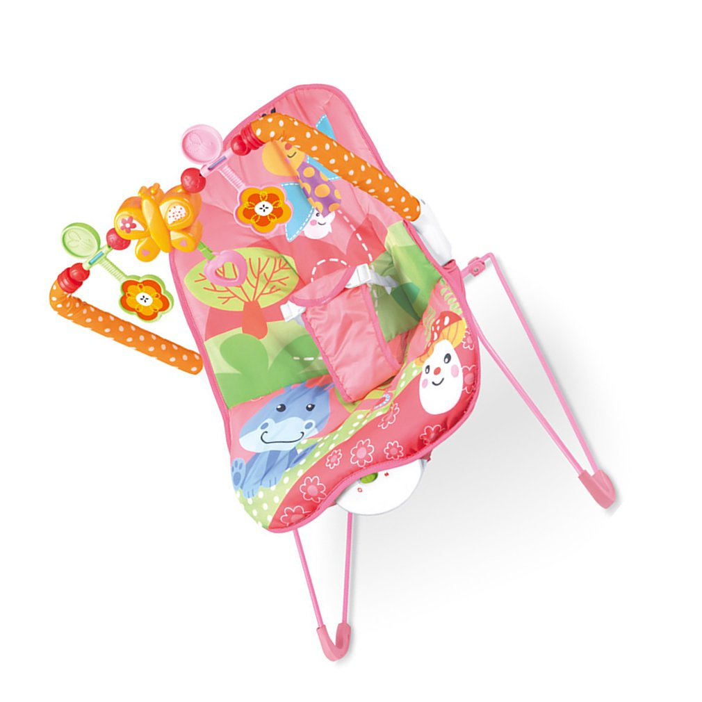 Ha495681568c44aff8d42ec815db24f70q Baby electric rocking chair Multi-function music vibrating shaker Children's rocking chair recliner toy
