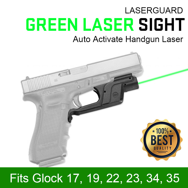 PPT Front Activation Green Laser Sight fits Glock 17 glock Laser Sight for Hunting gs20-0033-0