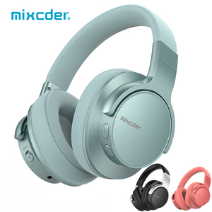 Mixcder E7 Wireless Headphones Active Noise Cancelling Bluetooth Headphone V5.0 Fast Charging ANC Headset for Phone(China)