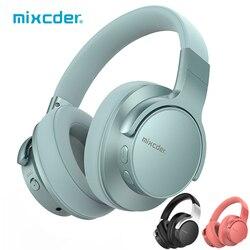 Mixcder E7 auriculares inalámbricos con cancelación activa de ruido auriculares Bluetooth V5.0 carga rápida auriculares ANC para teléfono