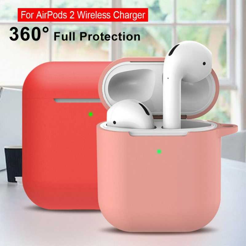 Protective Case For Airpods 2nd Generation Portable Soft Silicone
