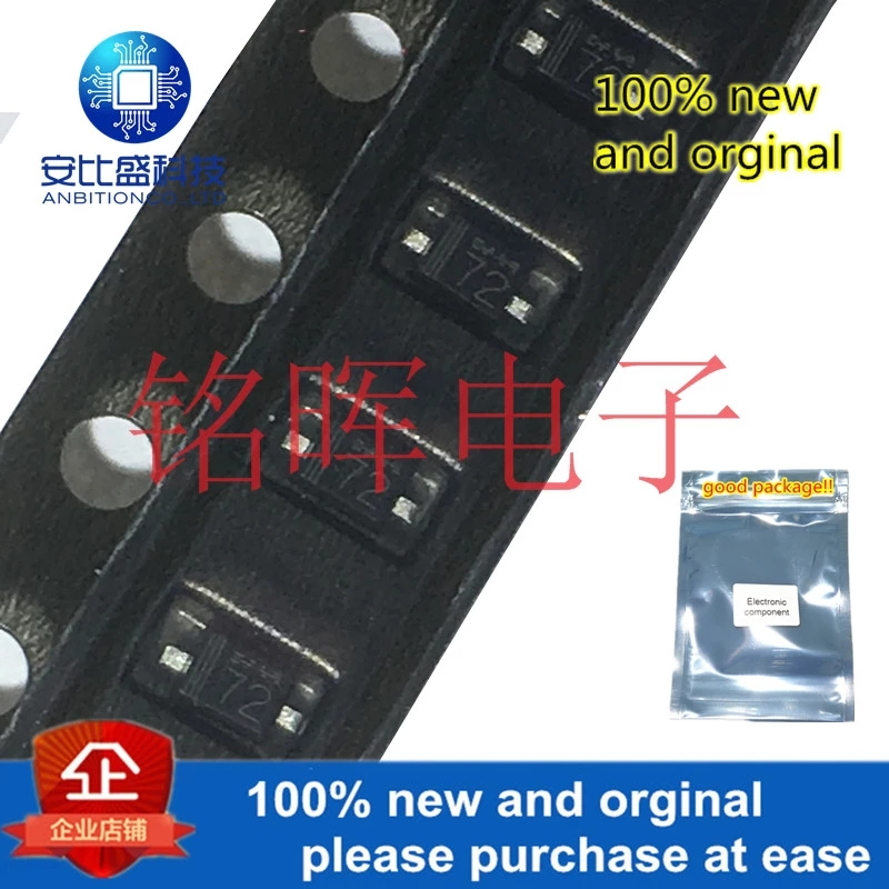 20pcs 100% New And Orgianl UDZV3.9B 3.9V Silk-screen 72 SOD323 0805 In Stock