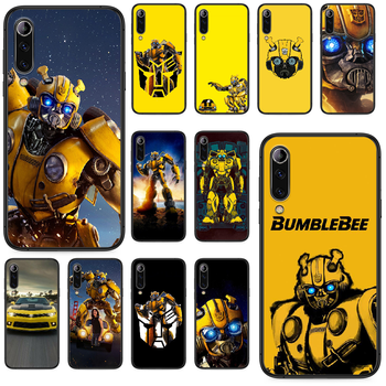Marvel Transformers Bumblebee Hulk Phone case For Xiaomi Mi 6 8 A1 Note3 A2 9 CC9 9T A3 MIX 2 2S 3 9 Lite SE Pro black hoesjes image