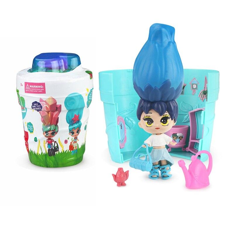 1 шт. eaki подлинные DIY Дети для сюрпризов игрушки lol куклы с оригинальной коробкой головоломки игрушки дети день рождения новый год подарки дл...