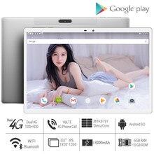 2021 yeni sıcak 10 inç Tablet PC MT6797 10 çekirdek 6 + 128GB Android 9.0 1920X1200 2.5K IPS планшет Планшеты Tablette Android