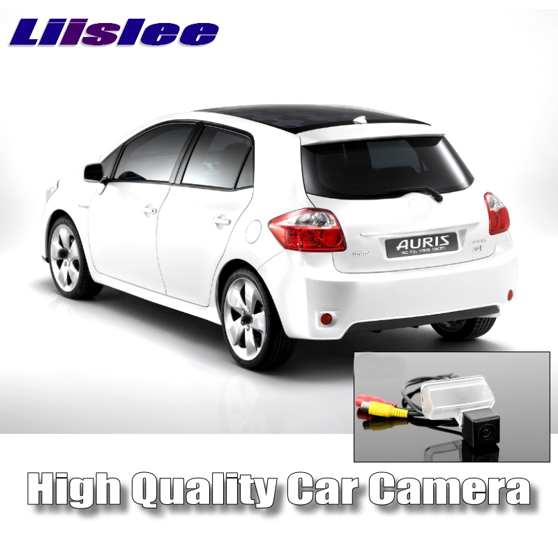 LiisLee Car Reversing Image Camera For TOYOTA Auris Blade E150 2006~2012 Night Vision HD WaterProof Rear View Back Up Camera