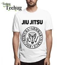BJJ Man Round Neck For Boy Jiu Jitsu T-shirt Free Shipping Unique Design O-neck t shirt