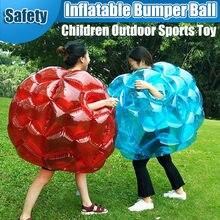 Balles à bulles gonflables de 60CM, en PVC, pour les activités de plein air des enfants