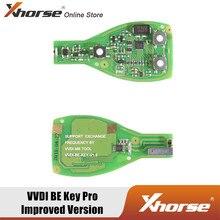 Xhorse – outil VVDI BE Key Pro, Version améliorée, 315/433MHZ, obtenez 1 jeton gratuit pour VVDI MB