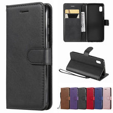 A50 Leather Case For Samsung Galaxy A10 S A10E Case Luxury Wallet Card Retro Flip Cover For Samsung A20 A30 A 20 30 50 S Coque