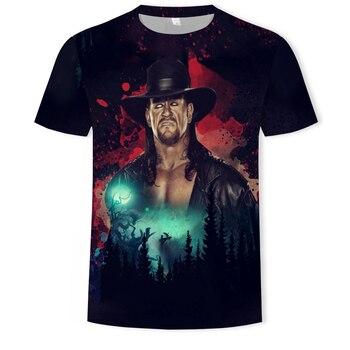 The Undertaker 3d print men short sleeve round neck t-shirt