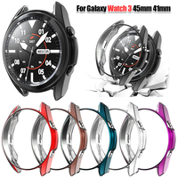 Ultra Slim Protector Case for Samsung Galaxy Watch 3 45mm 41mm Watch3 Soft Hollow out smart watch Cover Protective Bumper Shell