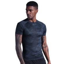 Men's short sleeve round neck t shirts men's t-shirts casual t-shirts men's breathable quick-drying fitness shirts