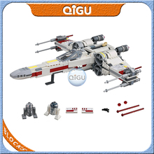 2020 Star Wars X-wing Starfighter Model Building Blocks Starwars with 4 Figures Compatible Bricks Lepingo 75218 Children Toys lepin 05045 star battle genuine series the b starfighter wing educational building blocks bricks toys legoing 10227 gifts model