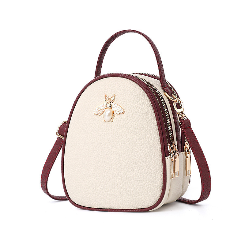 Новая сумка для девочек маленькая сумочка с Пчелкой Женская мини-Сумка подростковая Студенческая сумка женская летняя сумка милая сумка дл...
