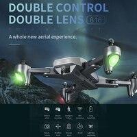 XS816 Quadcopter professionale flusso ottico Selfie RC Drone con Zoom 50 volte WiFi FPV 4K /1080P doppia fotocamera Dron VS SG106 M70