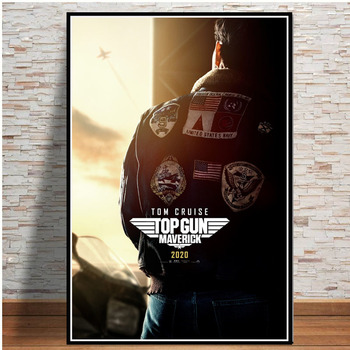 Top Gun Movie 2020 Tom Cruise Film Comic Posters And Prints Paintings For Living Room Wall Home Decoration Fashion Print Poster