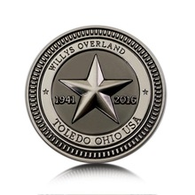 Car-Styling-Sticker Badge Compass Overland Jeep Vintage Star for Wrangler 75-Anniversary