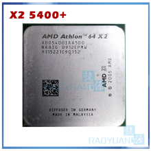 AMD Athlon-procesador de CPU de doble núcleo, 64x2, 5400 + 2,8 GHz, ADO5400IAA5DS, ADO540BIAA5DO, ADO5400IAA5DO, enchufe AM2