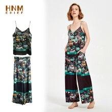 Women Silk Pajamas Set Jungle Print Nightwear Sleeveless Pajama Loose Pyjamas Suit 4/5XL 150kg Can Wear pyjama pour femme