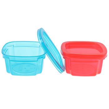 200ml pojemniki na żywność dla niemowląt pojemniki na przekąski dla niemowląt Mini przenośne pojemniki na żywność dla niemowląt tanie i dobre opinie CN (pochodzenie) Stałe Nitrosamine darmo BPA za darmo Ftalanów Lateksu Baby Kids Food Containers Storage Boxes Other 2-3Y