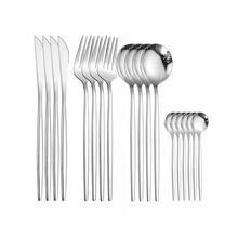 Кухня посуда Нержавеющаясталь столовый набор из вилок ложка