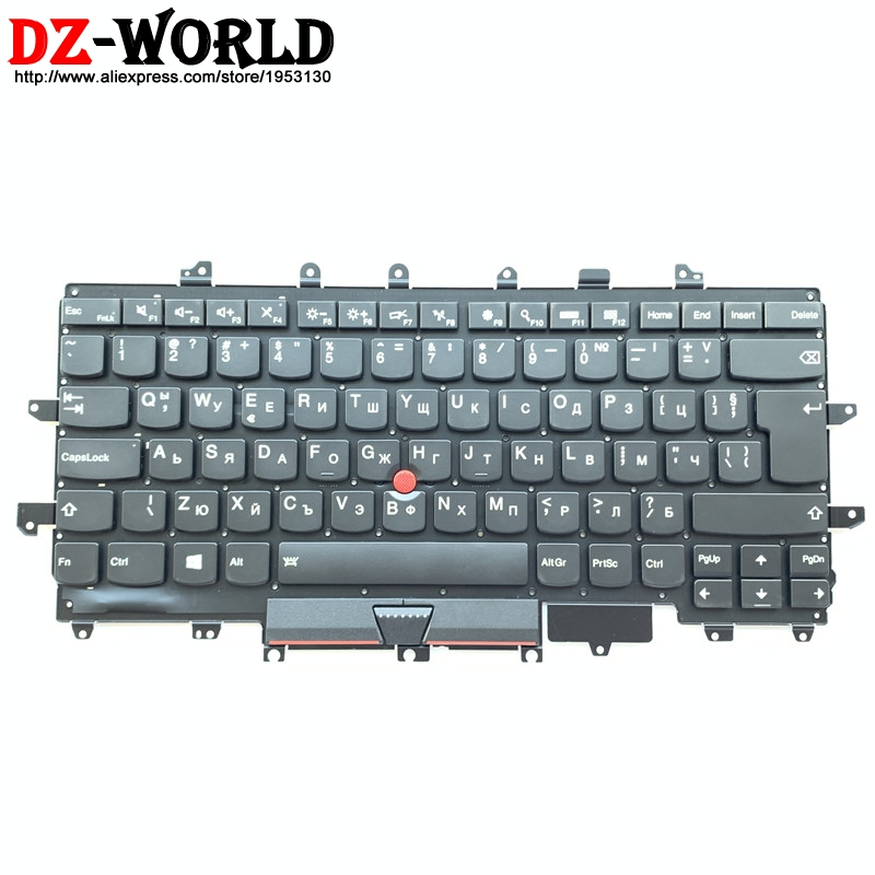 Lenovo ThinkPad X1 Carbon Gen 1 Laptop Black Backlit Keyboard 04Y0786