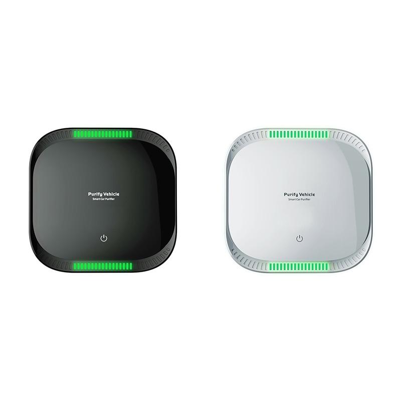 Smart Press Air Purifier Vehicle-Borne Air Cleaner Negative Ion ligent Formaldehyde Removal Air Purifier