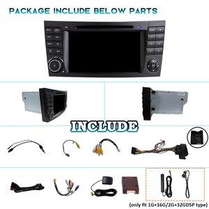 Image 5 - PX6 2 דין אנדרואיד 10 רכב רדיו עבור מרצדס בנץ e class W211 E200 E220 E300 E350 E240 E270 e280 W219 2DIN אוטומטי אודיו ניווט