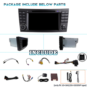 Image 5 - PX6 2 DIN Android 10 radio del coche para Benz Clase E W211 E200 E220 E300 E350 E240 E270 E280 CLS W219 2DIN audio de coche navegación dvd