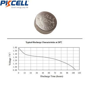 Image 3 - 100Pcs/10card 1.5V AG13 LR44 L1154 RW82 RW42 SR1154 SP76 A76 357A Battery Coin Cell Button Batteries for thermometer battery