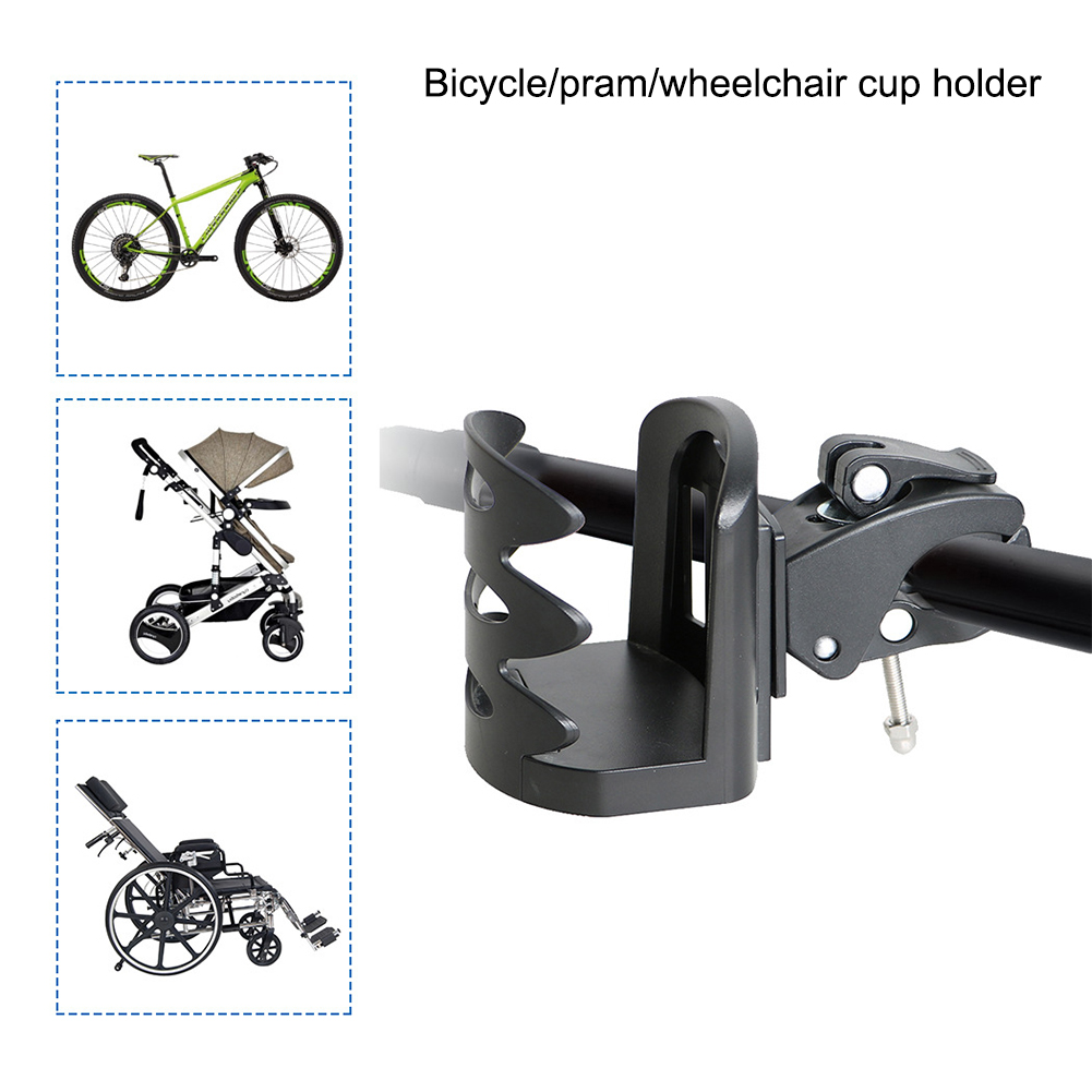 Elastic Drink Cup Water Bottle Cage Holder Bracket for Cycling Mountain Bicycle