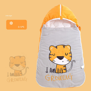 Baby Sleeping Bag Children's Bedding Anti-kick Is Warm Sleeping Bag Spring and Winter Newborn Envelope Baby Sleeping Bag