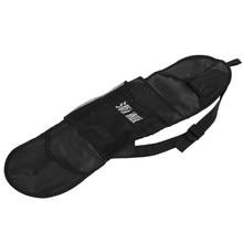 PUENTE-Funda de patineta portátil duradera, funda de transporte para monopatín, bolso de hombro, cubierta de almacenamiento para Longboard, mochila