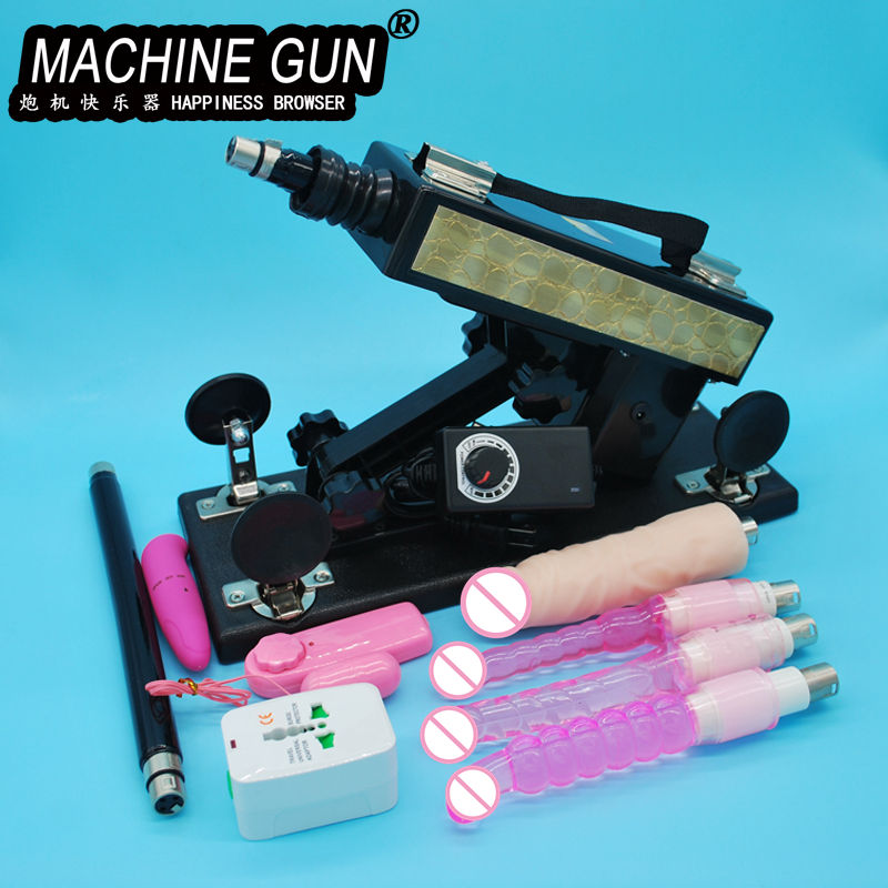 2020 New <font><b>Sex</b></font> <font><b>Machine</b></font> Female Masturbation Pumping Gun with 4 <font><b>Dildos</b></font> <font><b>Attachments</b></font> Automatic <font><b>Sex</b></font> <font><b>Machines</b></font> for Women <font><b>Sex</b></font> Products image