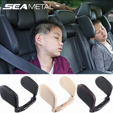 Car Headrest Pillow Travel Rest Seat Neck Pillow Support Solution For Kids Pillow And Adults Auto Seat Head Cushion Car Pillow(China)