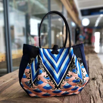 New portable shoulder bag for women big small Chinese style bags fashion large capacity embroidery handbags high-end Sac Femme