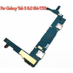 Image 3 - Getestet Volle Arbeit Entsperren Motherboard Für Samsung Galaxy Tab 3 8,0 T310 T311 SM T311 Schaltung Elektronische Panel Globale Firmware